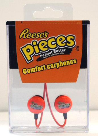 Reese's Pieces Candy Earbuds