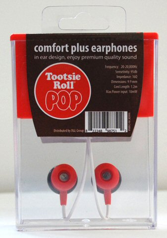 Tootsie Pop Earbuds Back