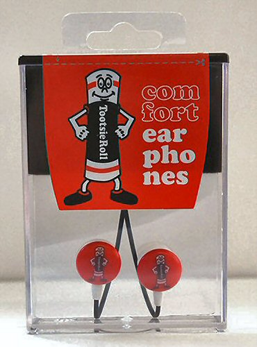Tootsie Rool Candy Earbuds