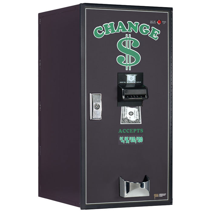 AC2001 Premier Dual Hopper Bill Changer - Change Dispenser