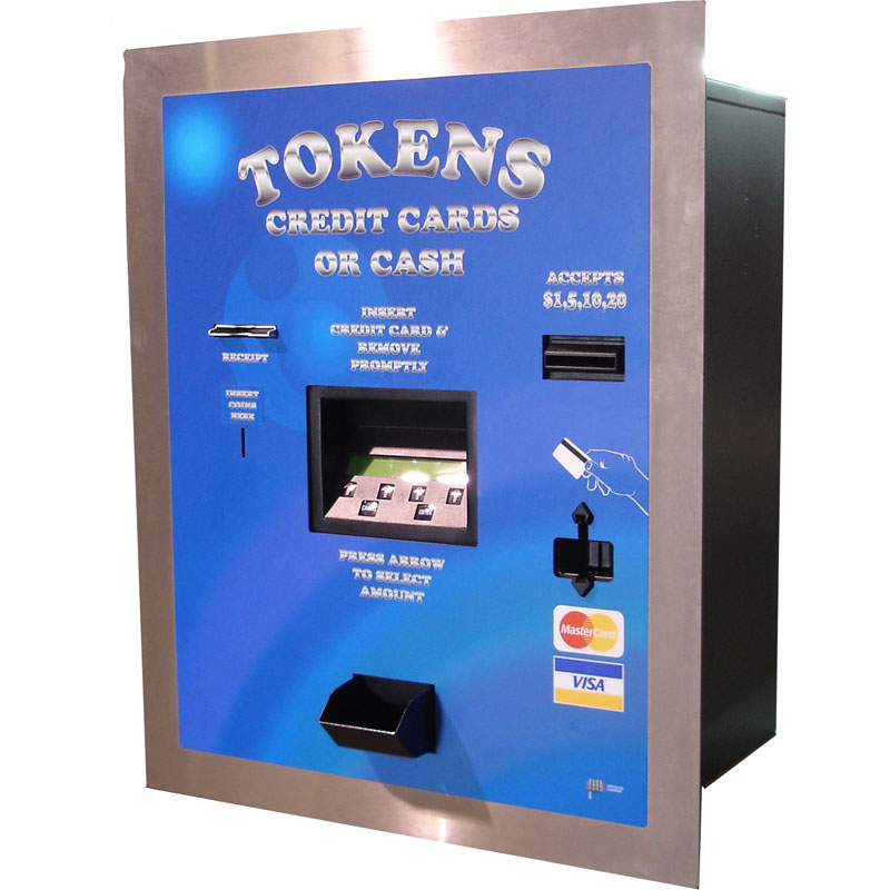 Rear Load Platinum Series Bills, Coins or Credit Card Token Dispenser