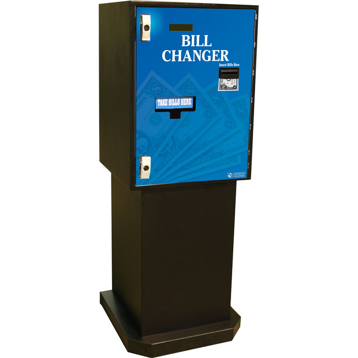 Single Denomination Bill Changer - Bill Breaker
