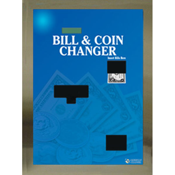 Rear Load Bill and Coin Changer - Bill Breaker