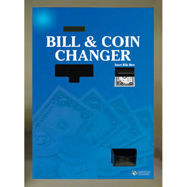 Rear Load Multi-Bill and Coin Changer - Bill Breaker