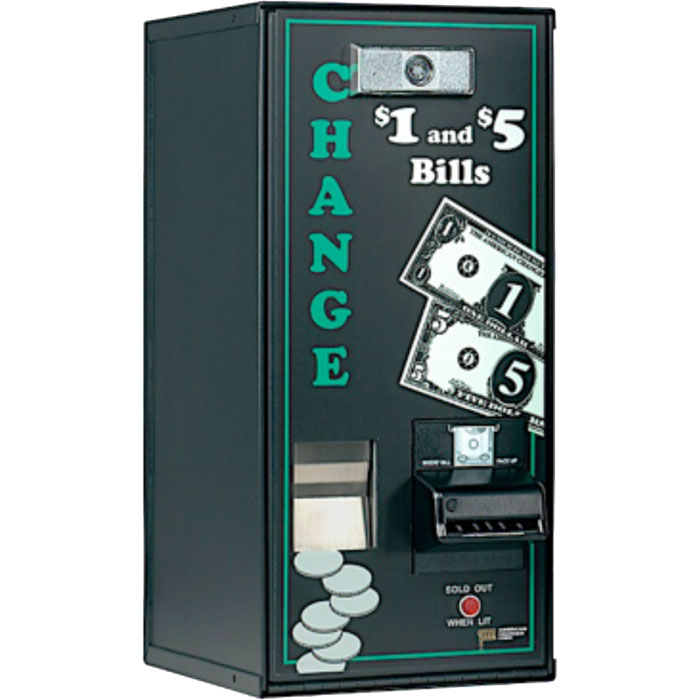 Deluxe Bill Changer - Change Dispenser