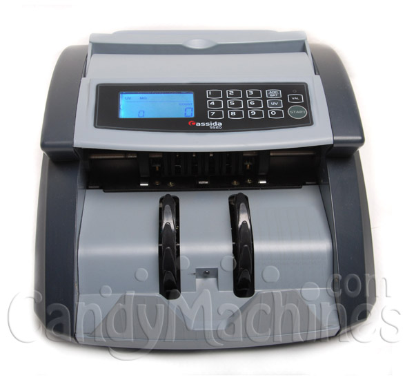 Cassida 5520 UV Professional Bill Currency Counter