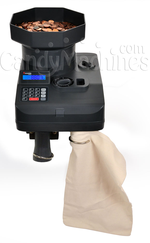 C850 Coin Counter with Bag and Off Sorter