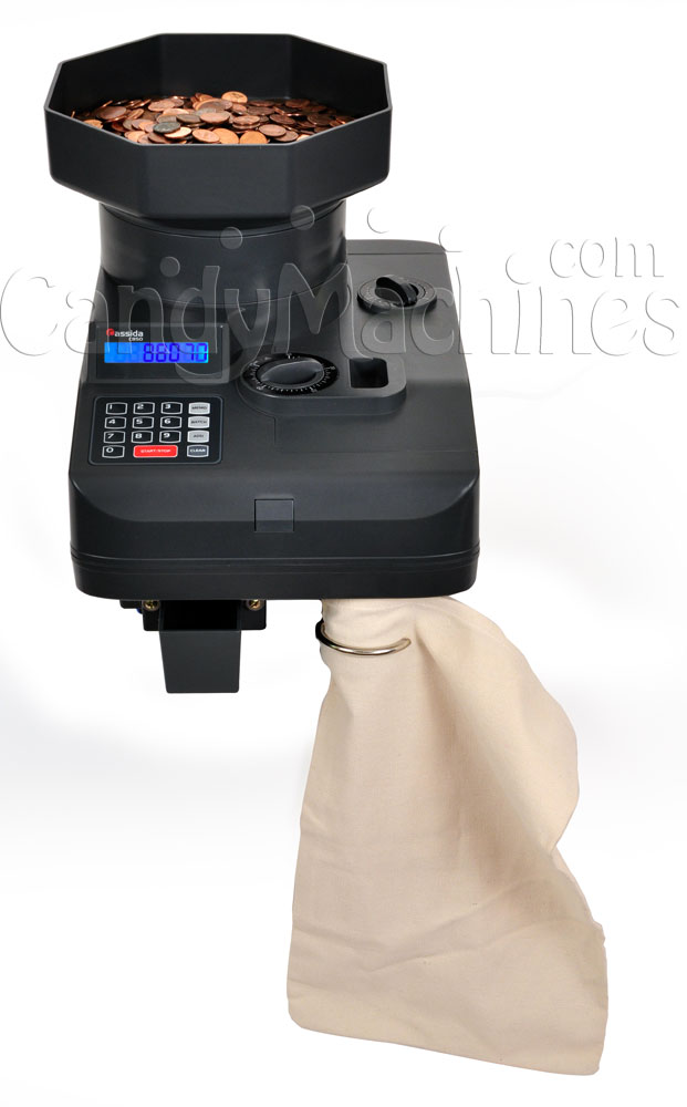 C850 Coin Counter with Bag