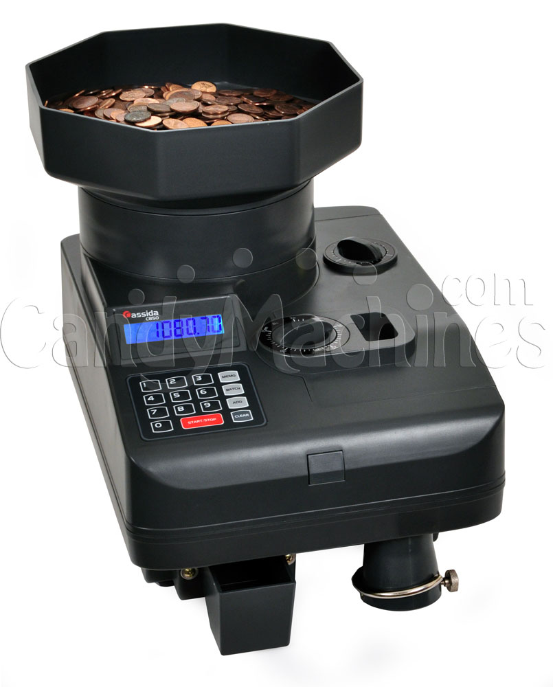 C850 Coin Counter With Coins