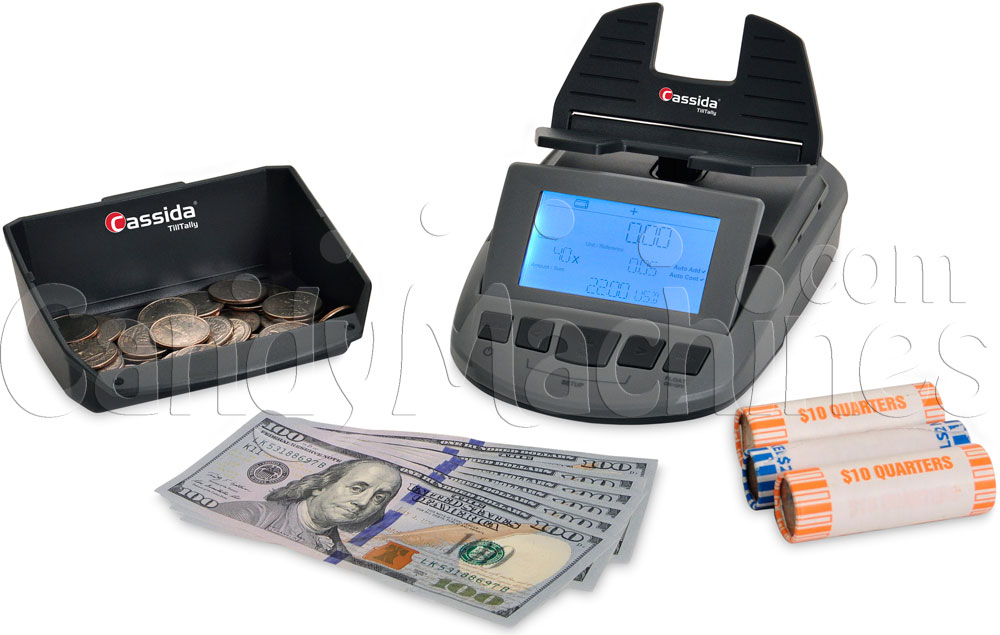 Cassida Till Tally Currency Counting Scale