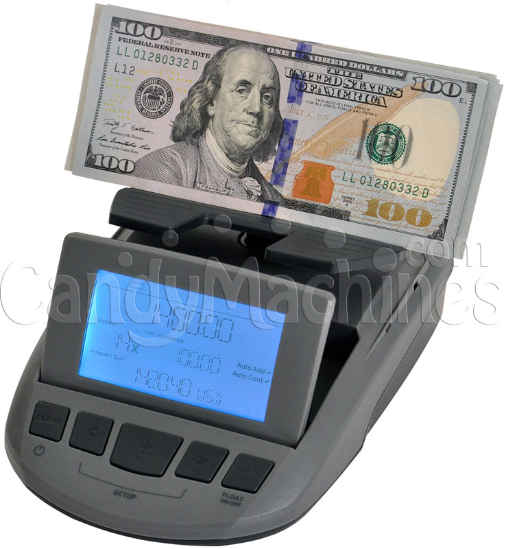 Cassida Till Tally Currency Counting Scale - Bills