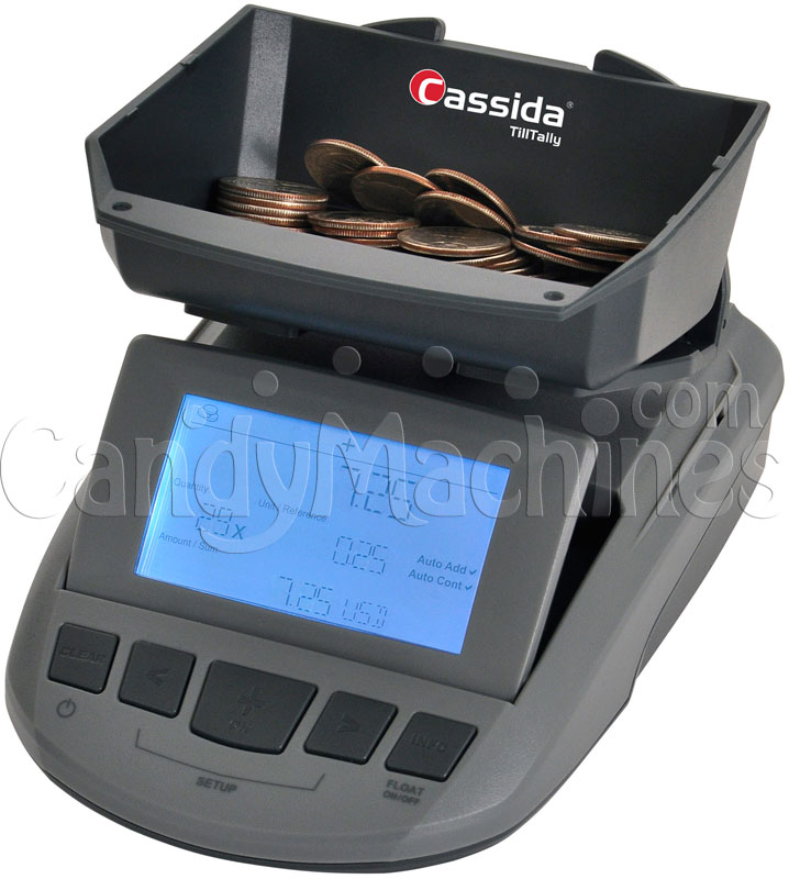 Cassida Till Tally Currency Counting Scale - Loose Coins