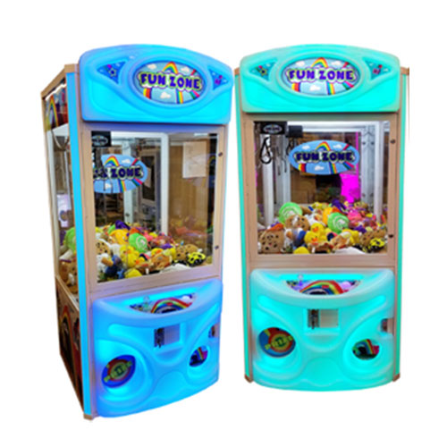 Fun Zone Color Changing Claw Machine Blue and Green