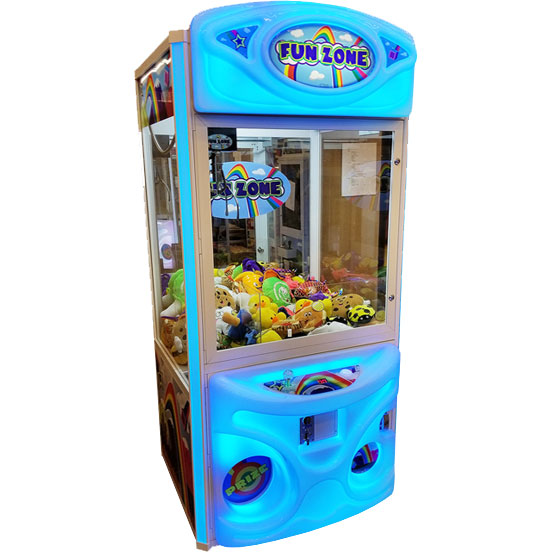 Fun Zone Color Changing Claw Machine in Blue