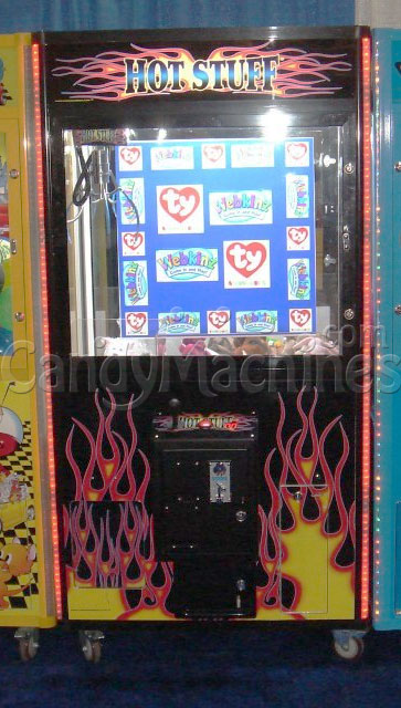 Hot Stuff Claw Vending Machine