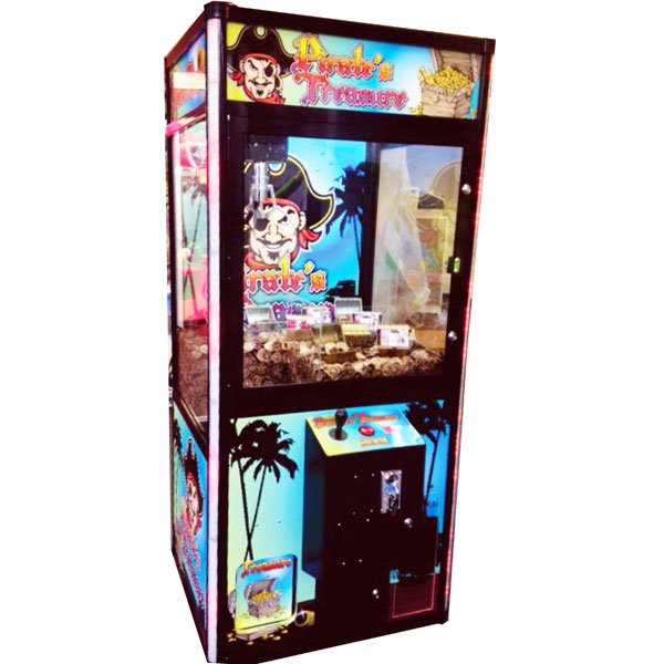 Pirate's Treasure Crane Vending Machine