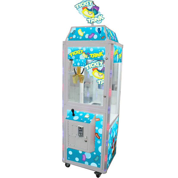 "Ticket Tank 24"" Crane Vending Machine"