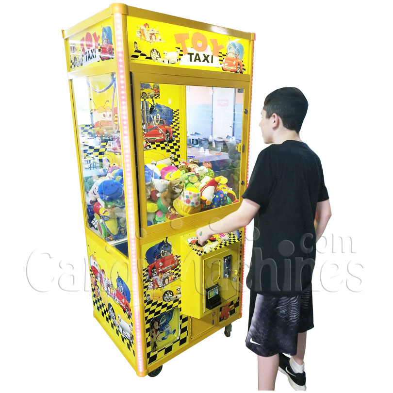 Toy Taxi Claw Vending Machine