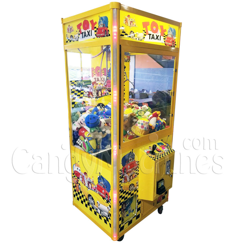 Toy Taxi Crane and Claw Vending Machine