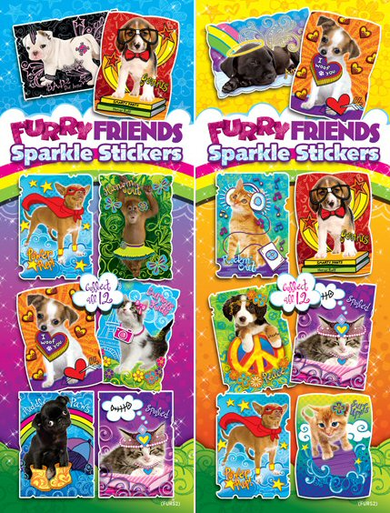 Furry Friends Vending Stickers - Click Here To Buy