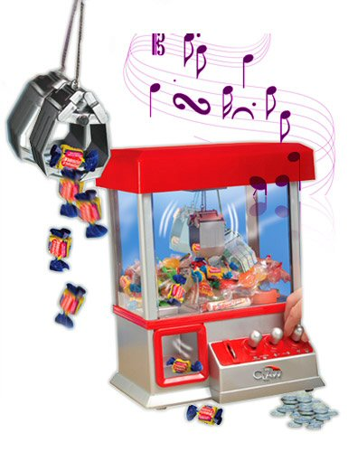 Toy Candy Crane Claw Grabber Arcade Game