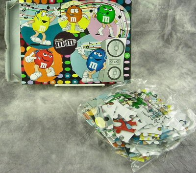 M&Ms 150 Piece Mini Jigsaw Puzzle