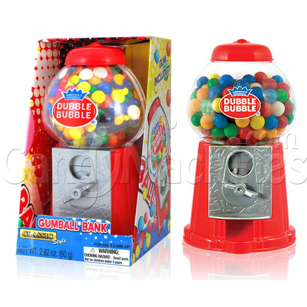 "8"" Classic Dubble Bubble Gumball Bank"