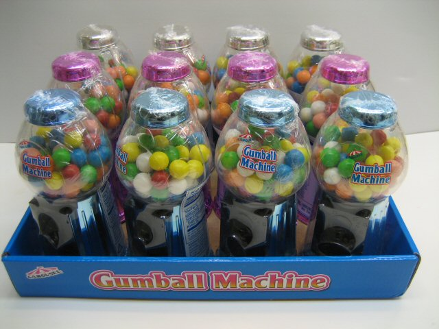 Assorted Metallic Gumball Dispenser - 12 pk.