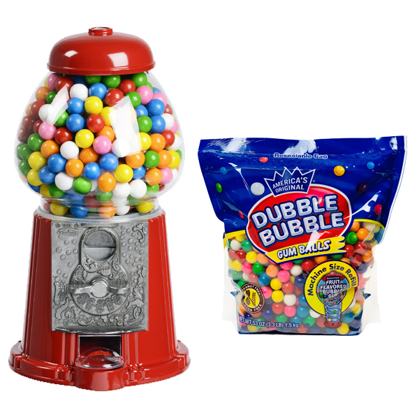 Junior Carousel Gumball Machine Gift Set (includes gumballs)