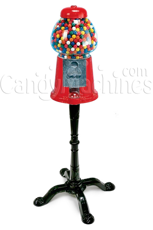 Large Gumball Bank with Stand