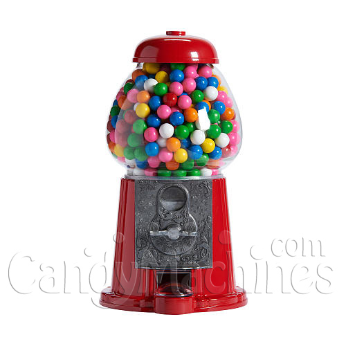 Junior Carousel Gumball Machine - 12-inches