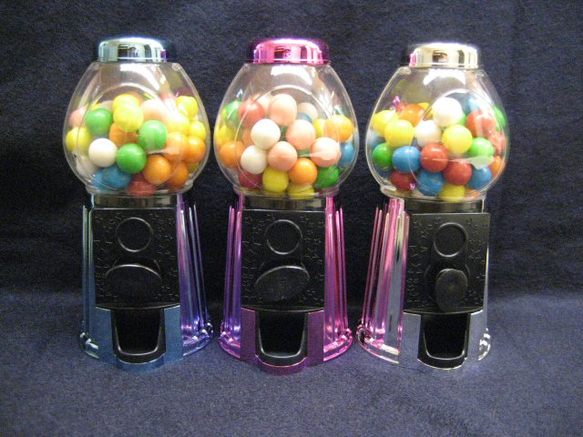 Metallic Gumball Dispenser