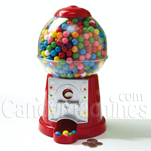 Musical Gumball Machine Bank