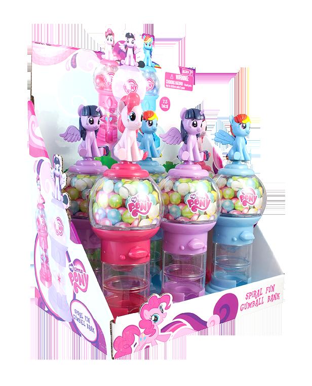 my pony gumball machine