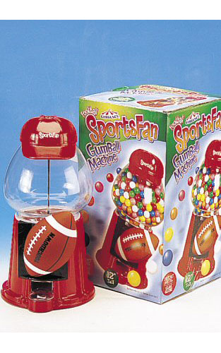 Football Sports Fan Gumball Machine - Click Here To Buy