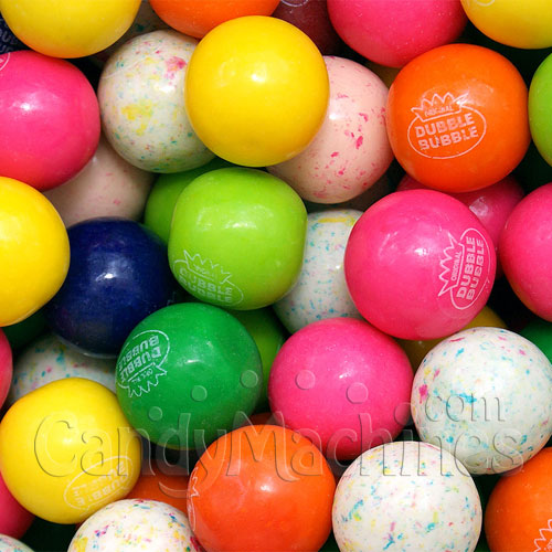 Assorted 10-Color Mix Gumballs by the Pound