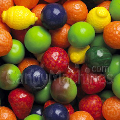 Seedlings Candy Filled Fruit Shaped Gumballs - 850 ct.