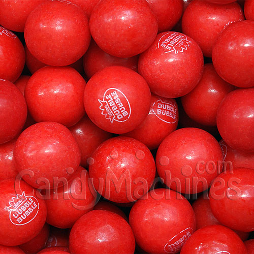 Dubble Bubble Very Cherry Filled Gumballs - 850 ct.