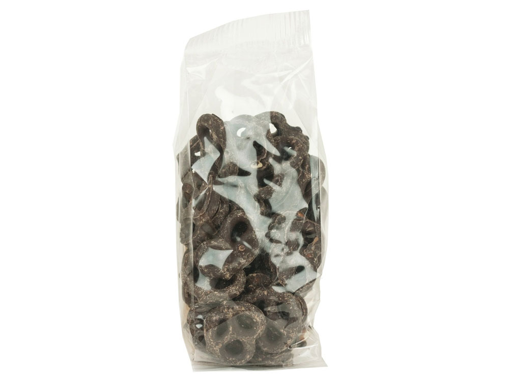 Dark Chocolate Covered Pretzels Prepackaged (4.5 lbs)