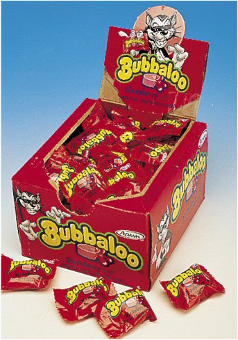 Bubbaloo Strawberry Gum