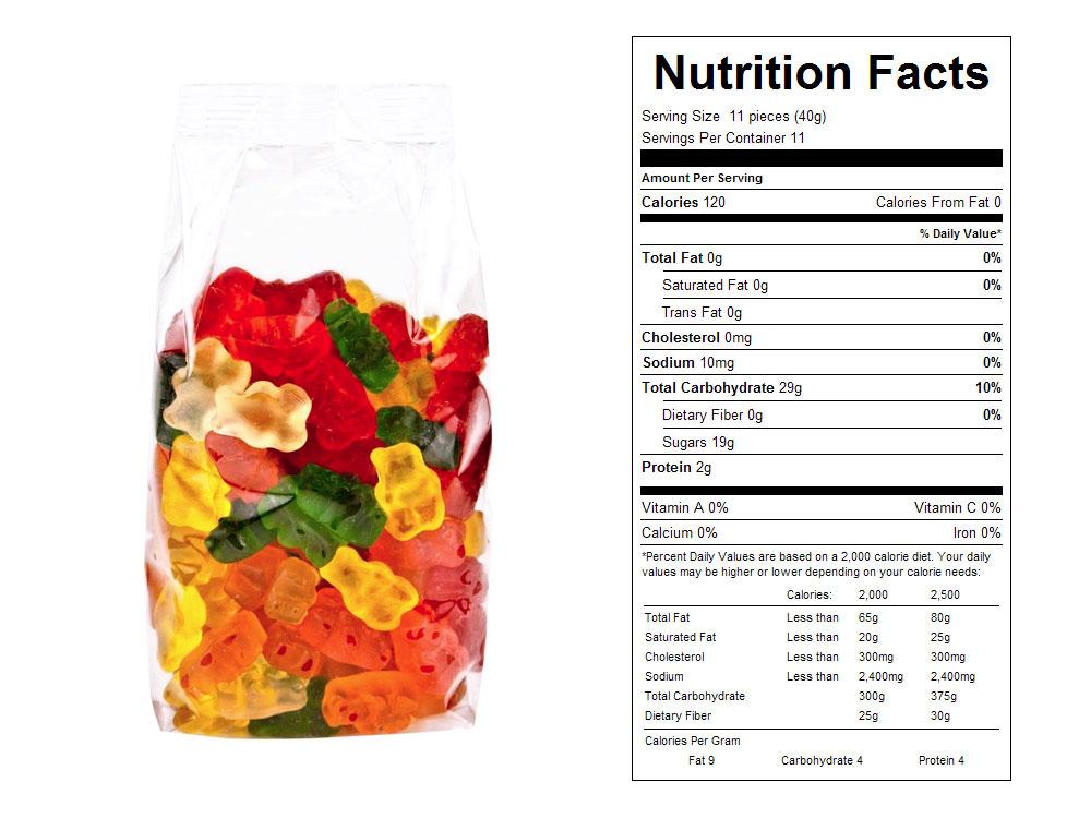 Buy Gummy Bears Prepackaged Candy (11