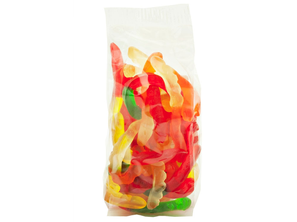 Gummy Worms Prepackaged Candy (8 lbs)