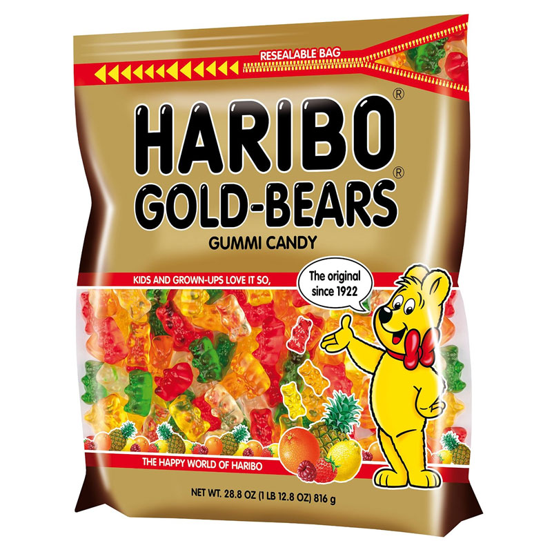 Haribo Gummi Bears - 28.8 oz Bag