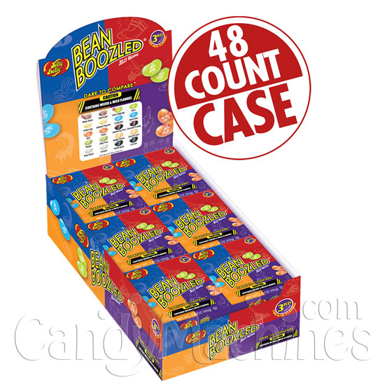 BeanBoozled Jelly Beans 1.6 oz. Box - 48 ct. Case