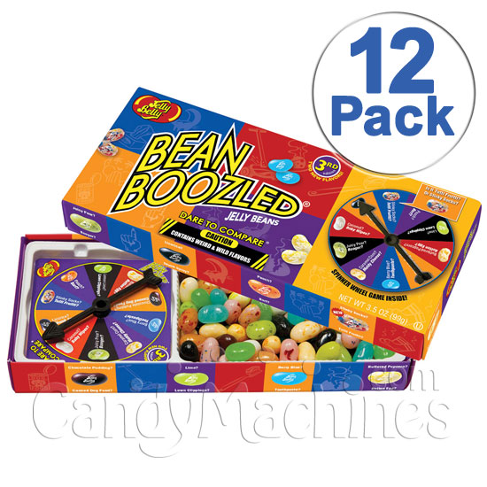 BeanBoozled Jelly Beans Spinner Box - 12 ct. Case