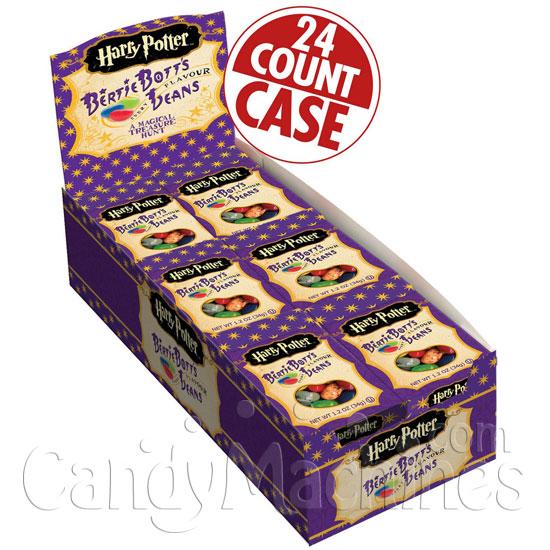 Harry Potter Bertie Bott's Every Flavour Beans - 24 ct. Case