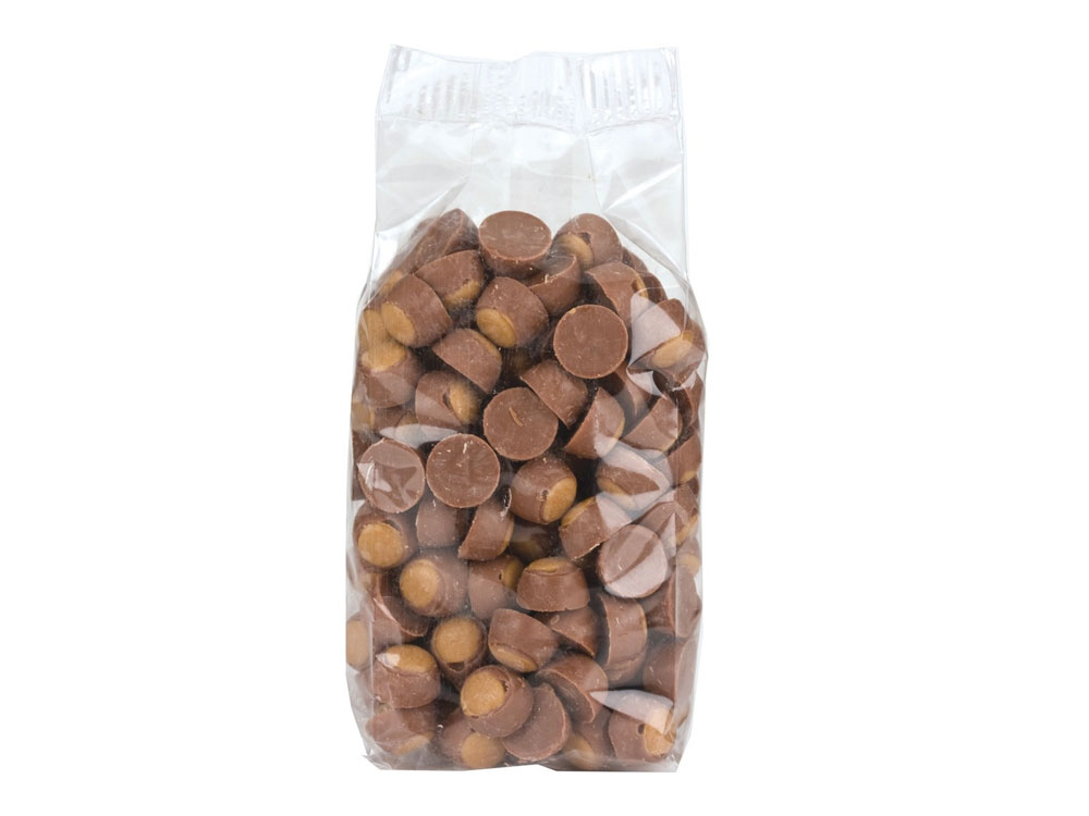 Mini Milk Chocolate Peanut Butter Buckeyes Prepackaged (9 lbs)