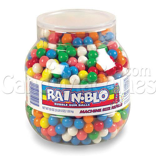 Rainblo Gumballs - 53 oz. Jar