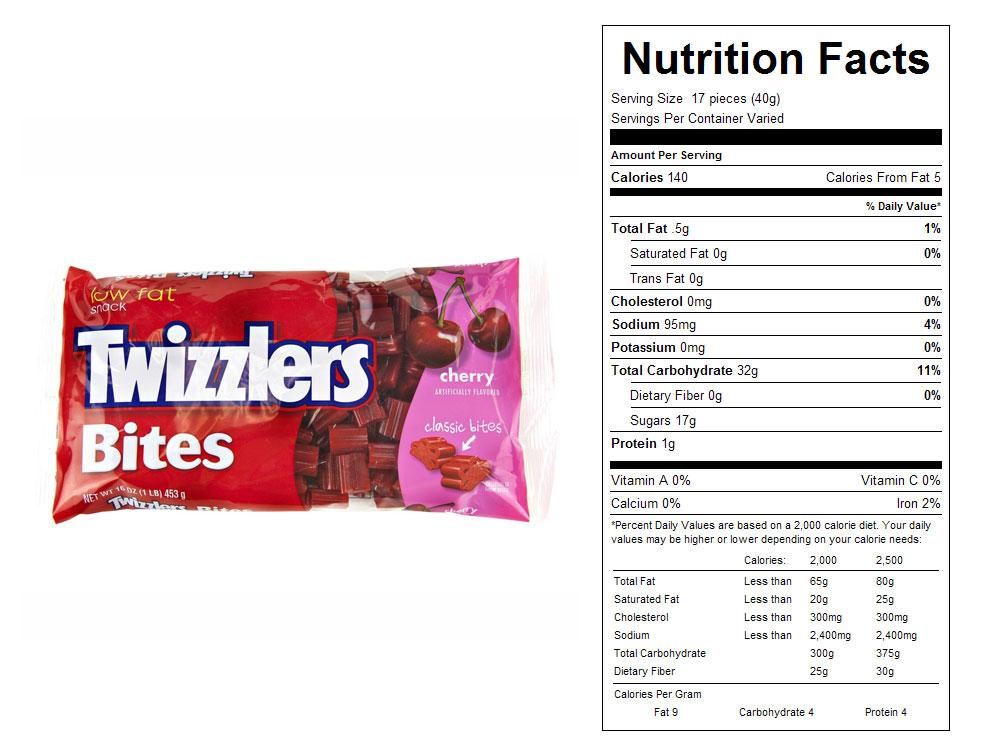 Buy Twizzlers® Cherry Bites - Vending
