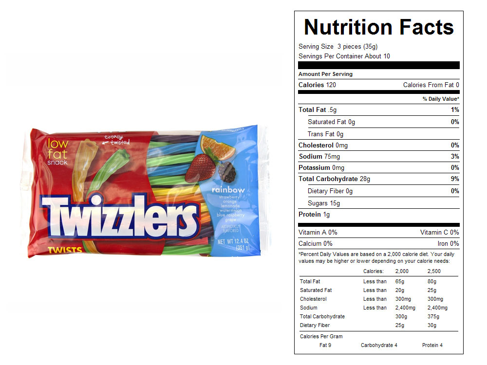 Buy Twizzlers® Rainbow Twists - Vending
